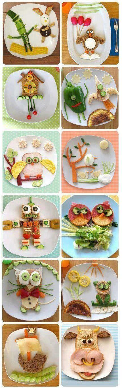 breakfast for children_food art