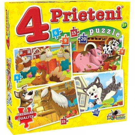puzzle-4-prienteni-mici-6-9-15-20-piese