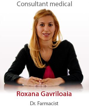 dr. farmacist Roxana Gavriloaia