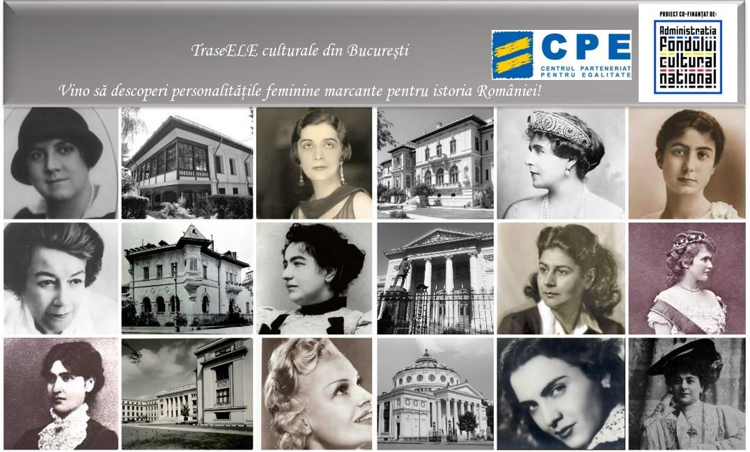 La plimbare prin Bucuresti, sa descoperim femeile din istoria Romaniei!
