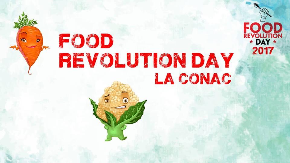 Fratia Ambasadorilor pentru sanatatea copiilor sau Food Revolution Day 2017