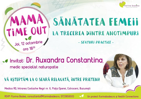 Mama Time Out – vă invit la prima ediție!