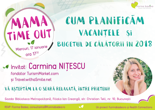 Mama Time Out - vacante in 2018