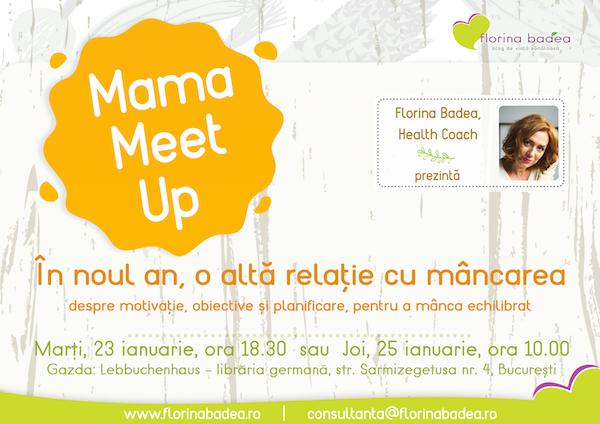 Mama Meet Up – am deschis înscrierile