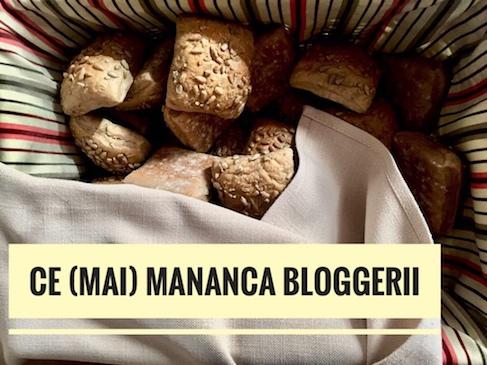 Idei pentru meniul săptămânal – ce (mai) mănâncă bloggerii
