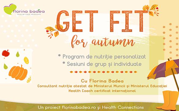 Get Fit for Autumn – programul online de nutriție pentru această toamnă