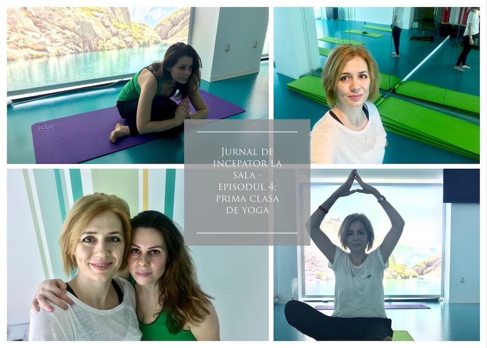clasă de yoga